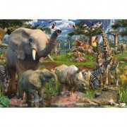 Puzzle Animale In Salbaticie, 18000 Piese Ravensburger