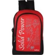 Leerooy 18 inch Laptop Messenger Bag(Red, Black)