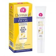 Dermacol Eye Gold Gel contorno occhi per tutti i tipi di pelle 15 ml