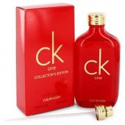 Ck One Eau De Toilette Spray (Unisex Red collector's Edition) By Calvin Klein 3.3 oz Eau De Toilette Spray