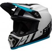 Bell MX-9 Dash MIPS Motocross Helmet Black White Blue L