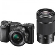 Sony ILCE6000Y/B Mirrorless Camera Two Lens Kit Incl. 16-50mm and 55-210mm