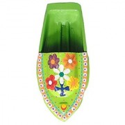 Kuhu Creations Supreme Practical Science Learning Tin Boat Water Toys. (1 Units Lime Green (Flower Pattern) Boat)