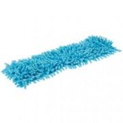 Rezerva mop plat microfibre bleu 40 cm