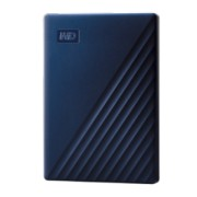 External HDD WD My Passport for Mac 2.5-- 4TB USB3.1 Blue Worldwide