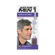 JUST FOR MEN TOUCH OF GREY GREY HAIR TREATMENT (Medium Brown) 1 Application