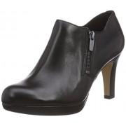 Clarks Women's Amos Kendra Black Leather Sneakers - 3.5 UK/India (36 EU)