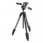 Manfrotto Compact Advanced Trípode con Rótula 3 Way Negro
