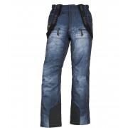 KILPI Pánské lyžařské kalhoty DENIMO-M JM0028KIBLU Modrá S