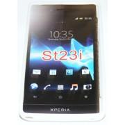 Силиконов гръб ТПУ за Sony Xperia miro ST23i Бял