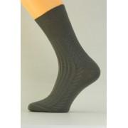 Zdravotní pánské ponožky Benet P004 tmavě šedá