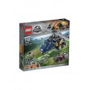 Lego Jurassic World - Blue's Hubschrauber-Verfolgungsjagd 75928