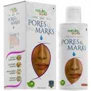 Nature Sure Pores and Marks Oil - 100ml for enlarged skin pores stretch marks and fine lines