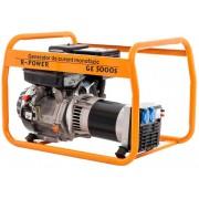 Ruris Generator Ruris R-Power GE 5000S, 5000 W, 13 CP, motor Kama, 4 timpi, benzina