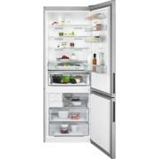 Combina frigorifica AEG RCB646E3MX, No Frost, 461 L, H 192 cm, Display LCD, Racire rapida, Inghetare rapida, Clasa energetica A++, Inox antiamprenta