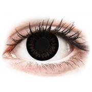 Vision ColourVUE BigEyes Dolly Black - sin graduación (2 lentillas)
