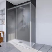 Schulte Home Paroi latérale pour porte de douche coulissante Urban II, 80 cm, anticalcaire