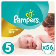 Pampers Premium Care Pelene 5 Junior - 56