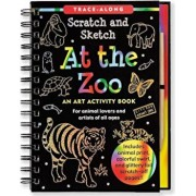 At the Zoo: An Art Activity Book for Animal Lovers and Artists of All Ages 'With Wooden Stylus', Hardcover/Peter Pauper Press