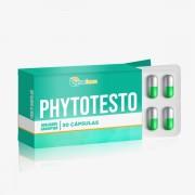 Phytotesto 300mg 60 Cápsulas Estimula e melhora o desempenho sexual e melhora o ganho de massa muscular