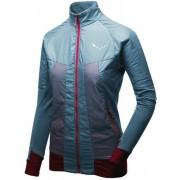 Salewa Pedroc Hybrid PTC Alpha - giacca ibrida - donna - Light Blue