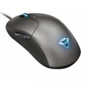 Мишка Trust GXT 180 Kusan Pro Gaming Mouse, оптична 5000 dpi, USB, сив, 6 препрограмируеми бутона, RGB осветление