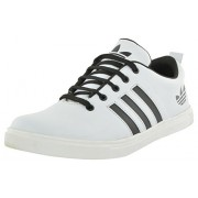 Free Feet Men's White Canvas Sneakers - 10 UK