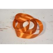 Díszítő dekoráló dekorációs 25 mm bronz szatén szalag 20m