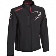 Bering Softshell-Jacke, Freizeitjacke Bering Softshelljacke schwarz/rot XL rot