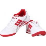 WSL Rocks Endurance Plus Walking Shoes For Men(White, Red)