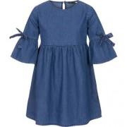 Sukienka jeansowa z rękawem 3/4 dla dziewczynki 3-8 lat