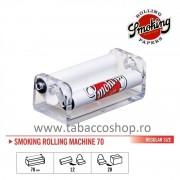 Aparat de rulat tigari Smoking Plastic 70mm