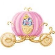 Mayflower Distributing Disney Princess Carriage Shaped Jumbo Foil Balloon