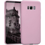 Protectie spate Senno Pure Flex Slim Mate TPU pentru Samsung Galaxy S8 Plus (Roz)