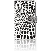 Huawei Y6 II Uniek Design Hoesje Slangenprint