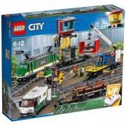 Конструктор Лего Сити - Товарен влак, LEGO City, 60198