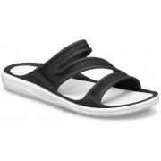 Crocs Swiftwater™ Telluride Sandalen Damen Black / Almost White 42