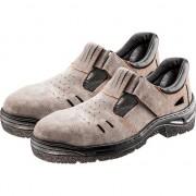Sandale de lucru (de lucru sandale S1 SRC, piele de căprioară, dimensiune 37)