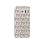Fabienne Chapot-Smartphone covers-Cheetah Softcase Samsung Galaxy S6 Edge-Bruin