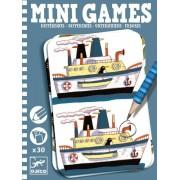 Mini gra podróżna dla dzieci - Znajdź różnice - Remi łamigłówki DJECO DJ05306