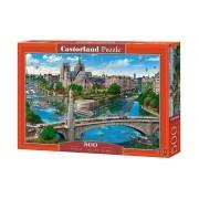 Puzzle Notre Dame - Paris, 500 piese