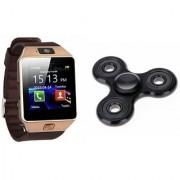 Zemini DZ09 Smart Watch and Fidget Spinner for LG OPTIMUS G (DZ09 Smart Watch With 4G Sim Card Memory Card  Fidget Spinner)