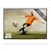FrontStage Навиващ проекторен екран за домашно кино HDTV 172х130см (PS-LUA-PSBC-86)
