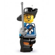 Lego Collectable Minifigures: Musketeer Minifigure - Series 4