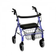 Cruiser Deluxe 4-Wheeled Walker, Purple Part No. 4202-PL Qty 1