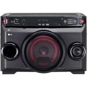 LG Om4560 Mini Hi Fi Bluetooth Potenza 220 Watt Subwoofer Incluso Lettore Cd / Mp3 Wma Radio Fm Usb Aux - Om4560