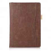 Shop4 - Lenovo Tab 4 10 Plus Hoes - Book Cover Folio Bruin