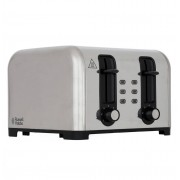 Russell Hobbs 23540 4 Slice Wide Slot Toaster - Silver