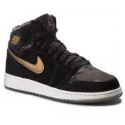 Обувки NIKE - Air Jordan 1 Ret Hi Prem Hc 832596 030 Black/Mtlc Field/Light Bone