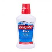 Colgate Plax Sensation White ústní voda bez alkoholu proti tvorbě plaku 500 ml